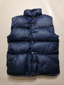 fd1116d7c4 Vintage North Face Goose Down Blue Puffer Vest Mens xl Made USA 80s ...