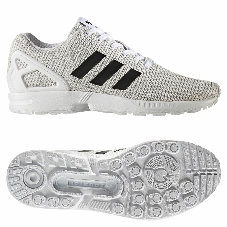 Adidas ORIGINALS Para hombre Zapatillas Zapatos Tenis blancoo ZX FLUX TREFOIL Retro Nuevo