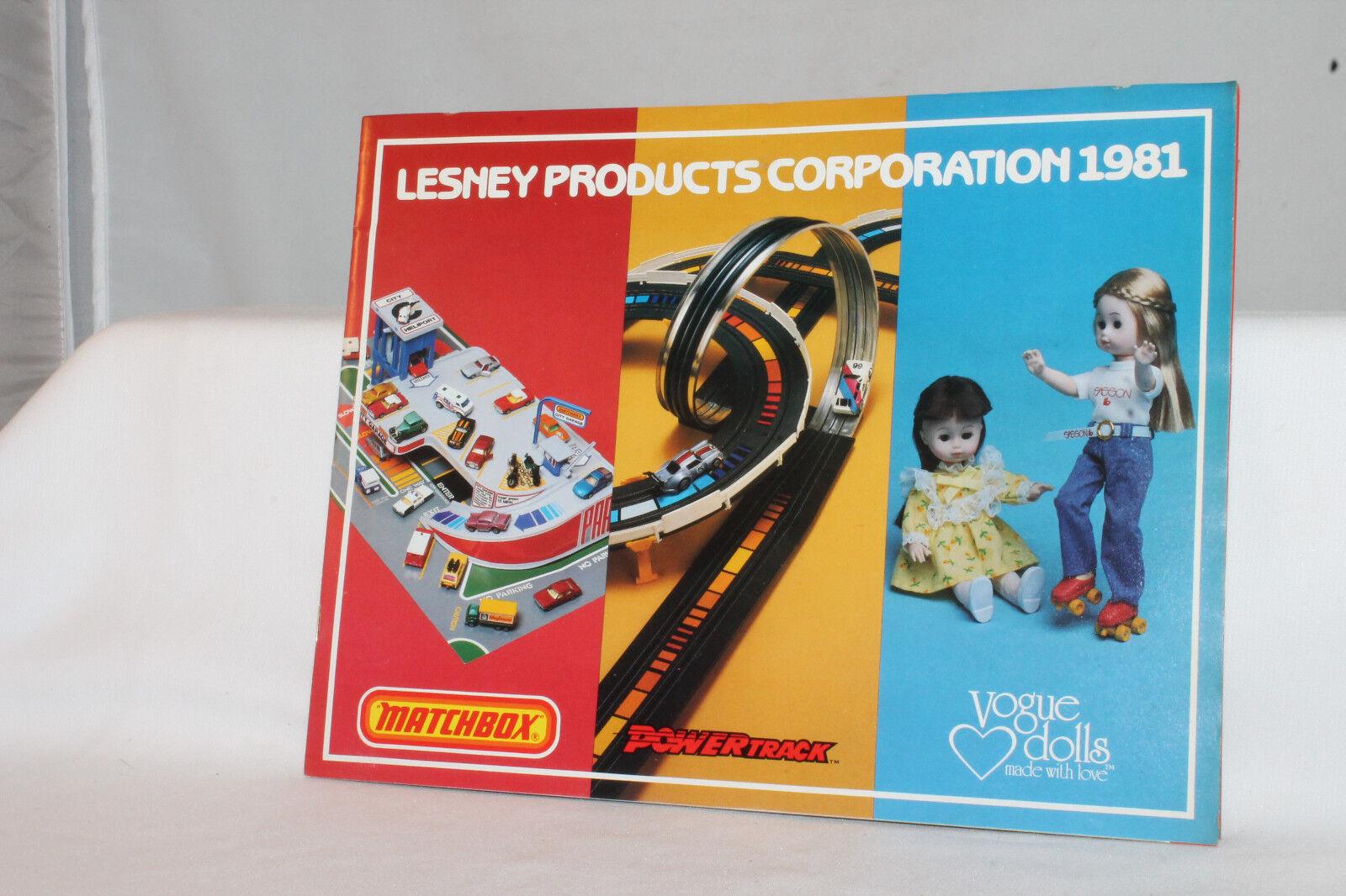 1981 matchbox   vogue - puppen - katalog, original