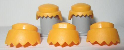 Playmobil  lot  cheveux  classique blond    neuf