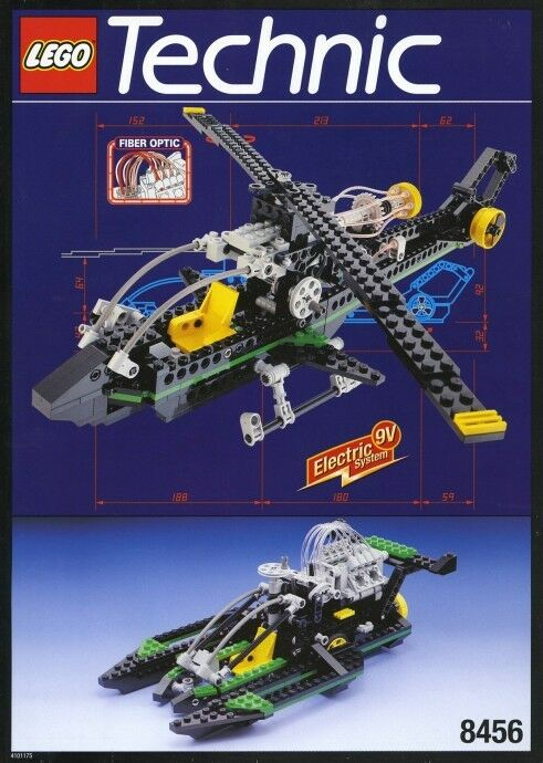 Lego Technic Modell Flughafen 8456 Glasfaser Multi Set Neu Ovp Hubschrauber