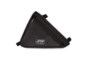 PRP-Seats-Triangle-Storage-Bag-Vinyl-Black-Yamaha-YXZ-1000R-UTV-Universal-Fit