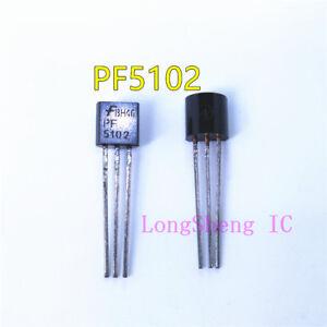 10PCS-PF5102-JFET-N-ch-40-V-625-MV-TO92-Fairchild-Nuevo