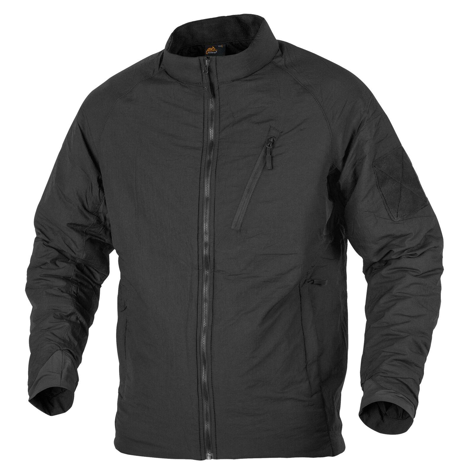 HELIKON tex wolfhound light Insulate Jacket nylon outdoor chaqueta-negro negro