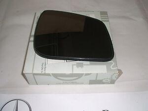Genuino Mercedes-Benz A-Class W169 de Sistema Operativo Drivers Espejo Vidrio a1698102221