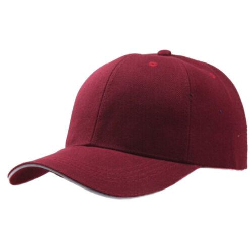 Men Women New Black Baseball Cap Snapback Hat Hip-Hop Adjustable Bboy Caps  cx