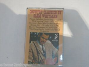 Country Classics by Slim Whiteman Capitol Records, INC. RARE Cassette Tape