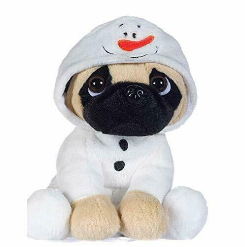 "New Official 8/"" Noël Carlin en bonhomme de neige costume Soft Plush Toy"