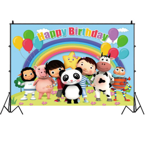 Little Baby Bum Happy Birthday Party Boys Tableware Decor Tablecloth Cups Plate