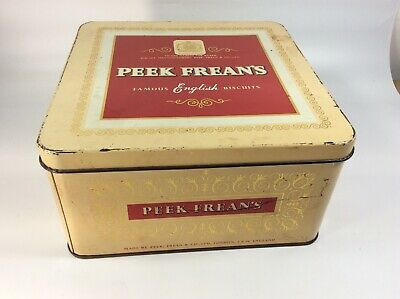 Peek frean and co biscuits and cakes vintage style metal advertising wall plaque sign or framed picture frame