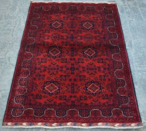 Rugs & Carpets Y5 Best Afghan Turkoman Khal Mohammadi Handmade Tribal Vintage Rug 3'7 X 5'2 To Clear Out Annoyance And Quench Thirst