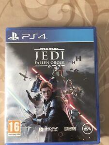 Jeu De Ps4 Star Wars Jedi Fallen  Order Avec Boite