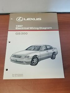 Peachy New Lexus 1997 Gs300 Electrical Wiring Diagram For Usa Canada Ewd276U Wiring Digital Resources Bemuashebarightsorg
