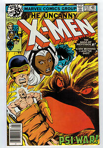 X-MEN #117 9.2 BYRNE ART OFF-WHITE PAGES BRONZE AGE