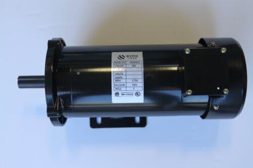 Brand New Permanent Magnet 1 HP 180V 56C DC MOTOR  1750RPM TEFC