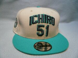 New Era 9Fifty Seattle Mariners Ichiro 51 Snapback BRAND NEW hat cap MLB SEA