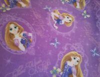 Personalize Disney Princess Tangled Rapunzel Fleece Throw Blanket 52x58
