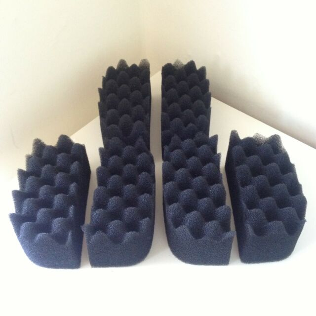 6 x Compatible Fluval Bio-Foam Filter Pads suitable for 204 / 205 and 206