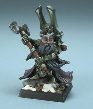 Herryk Aesir Dwarf Warlord Reaper Miniatures Cleric Fighter Paladin Melee Hammer