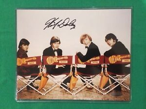 Mickey-Dolenz-Signed-8x10-The-Monkees-Color-Photograph-w-Tristar-Hologram