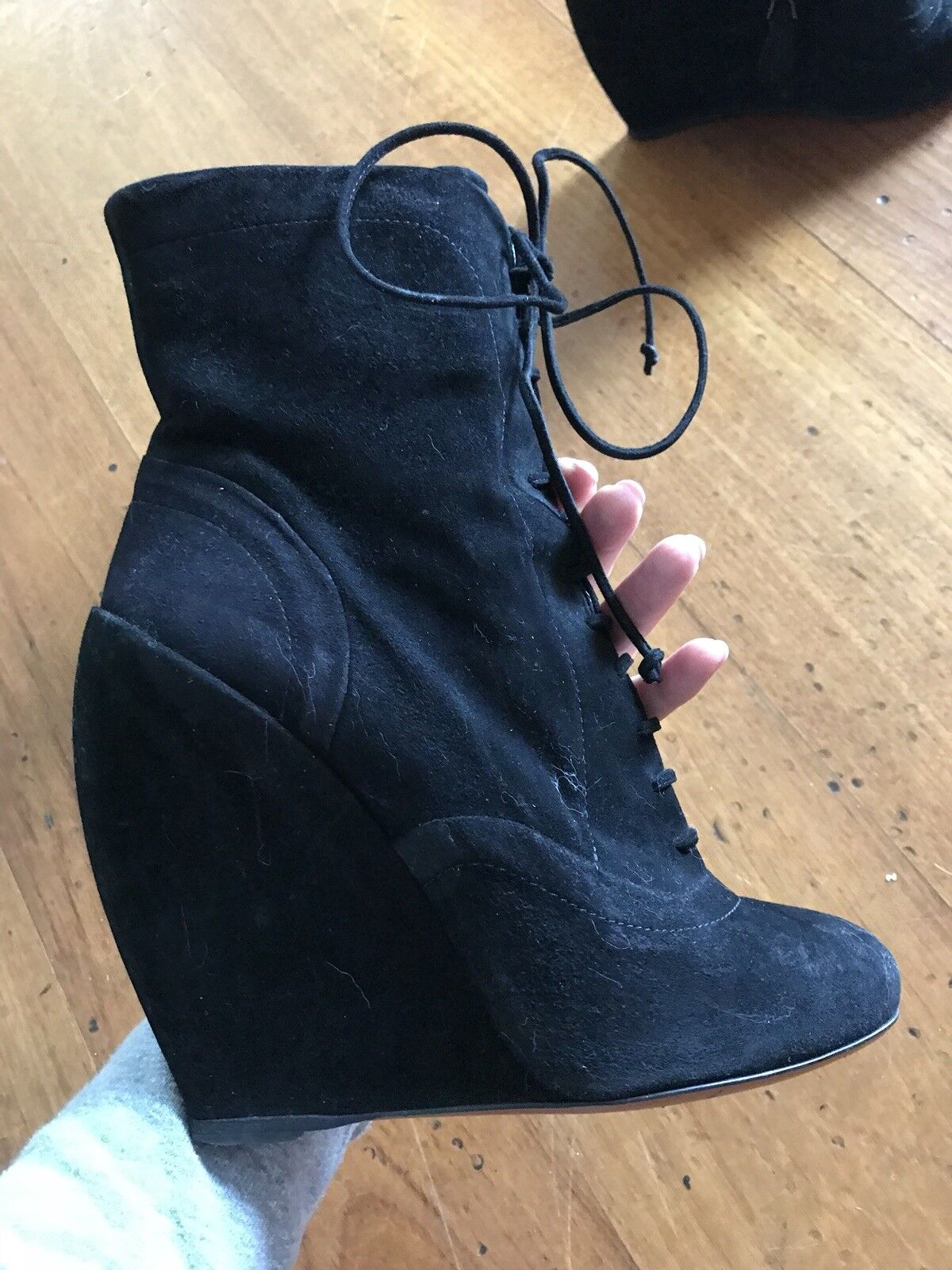 i nuovi stili più caldi Alaia stivali Wedge Heel 37.5  1,310        economico online
