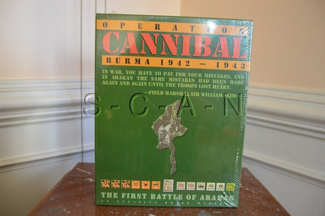 Operation Cannibal- Burma 1942-43- Avalanche Press- 1996- Shrink-Wrap