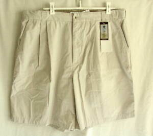 COLUMBIA-SPORTSWEAR-Khaki-Tan-Cotton-Shorts-Mens-size-40-NEW
