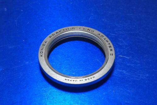 Konica japón m42 objetivamente adaptador de Praktica lens Mount adaptador II ar muy bueno