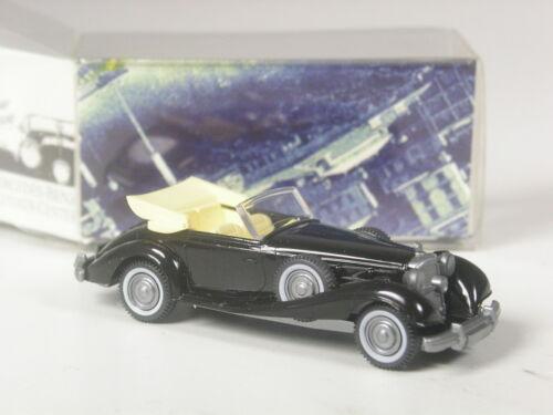 pubblicitari Wiking MODELLO MERCEDES 540 K Nero-Beige Oldtimer Center in scatola originale RARO
