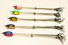 Lot of 5 New ALABAMA UMBRELLA Fishing Rig multiple colors