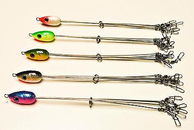 5 Alabama Style Umbrella Fishing Rigs NEW Multiple colors