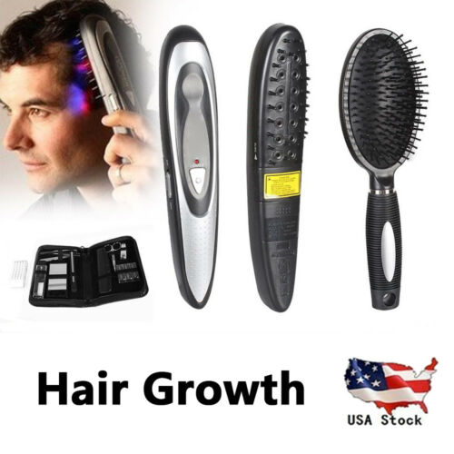 US-Hair-Laser-Comb-Loss-Brush-Grow-Treatment-Growth-Therapy-Massage-Kit-Regrowth