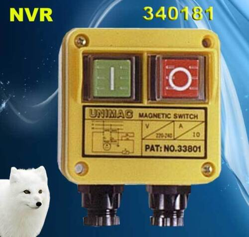 340181 Woodturning Woodworking No Volt Release Switch NVR