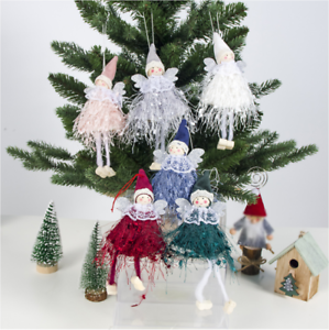 New Home Ornament 2020.Details About Christmas Angel Doll Toy Christmas Tree Pendants Ornaments Home Decoration 2020