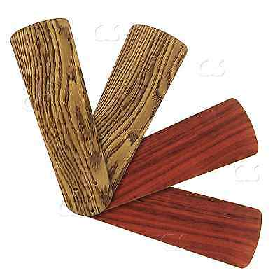 "Replacement Blades for 38"" - 42"" Ceiling Fan 4/pack Dark Oak / Mahogany _328-B06"