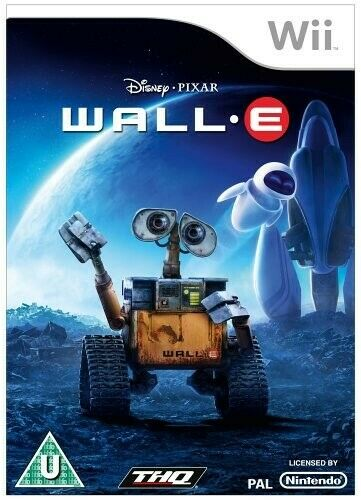 Nintendo Wii jeu - Wall-E ANGLAIS dans l'emballage utilisé