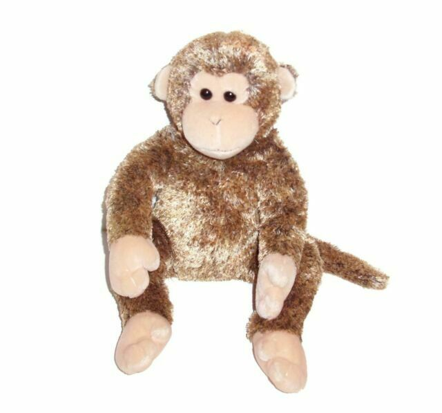 2003 Ty Bonsai Beanie Buddies Buddy Chimpanzee Monkey Plush Stuffed Animal For Sale Online Ebay