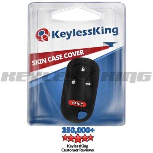 Fits Key Fob Cover 2000-2009 Honda S2000 Remote Case Rubber Skin KOBUTAH2T