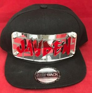 Custom Made Snapback - Create Your Own Name or Logo Custom 3D Mirror ... 41c4deb801c