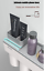 Automatic-Toothpaste-Dispenser-Toothbrush-Holder-Wall-Mount-Storage-Rack-2-CUPS thumbnail 3