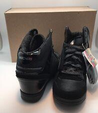 86c225bc204d Women s Skechers OG 80 Swag High Top Wedge Sneaker 6 M Black