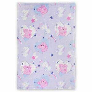 Coperta Peppa Pig.Details About Official Peppa Pig Sleepy Fleece Blanket Girls