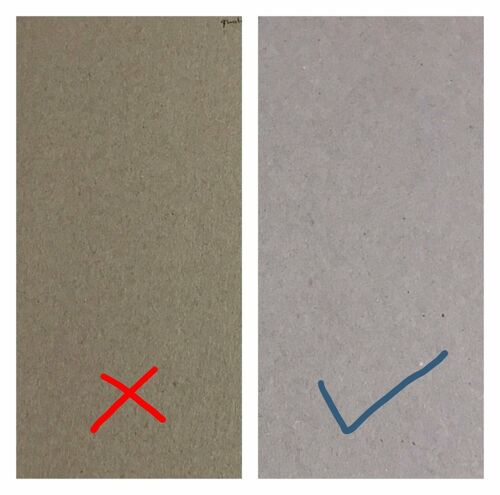 """12/""""x12/"""" Greyboard 100/% Recycled Thick Cardboard 1mm 1.5mm 2mm A6 A5 A4 A3 A2"""