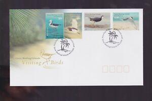 Australia-2008-Cocos-Island-Visiting-Birds-FDC-J-475