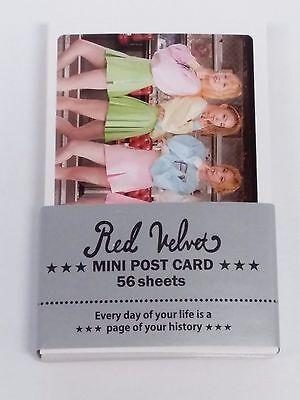 Red Velvet RedVelvet Photo Mini Post Card 56 Sheets KPOP Wendy Irene Seulgi Joy