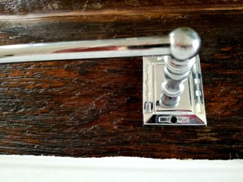 "#1 24/"" Towel Bar Chrome ~ Allied Brass #221~ New Old Stock"
