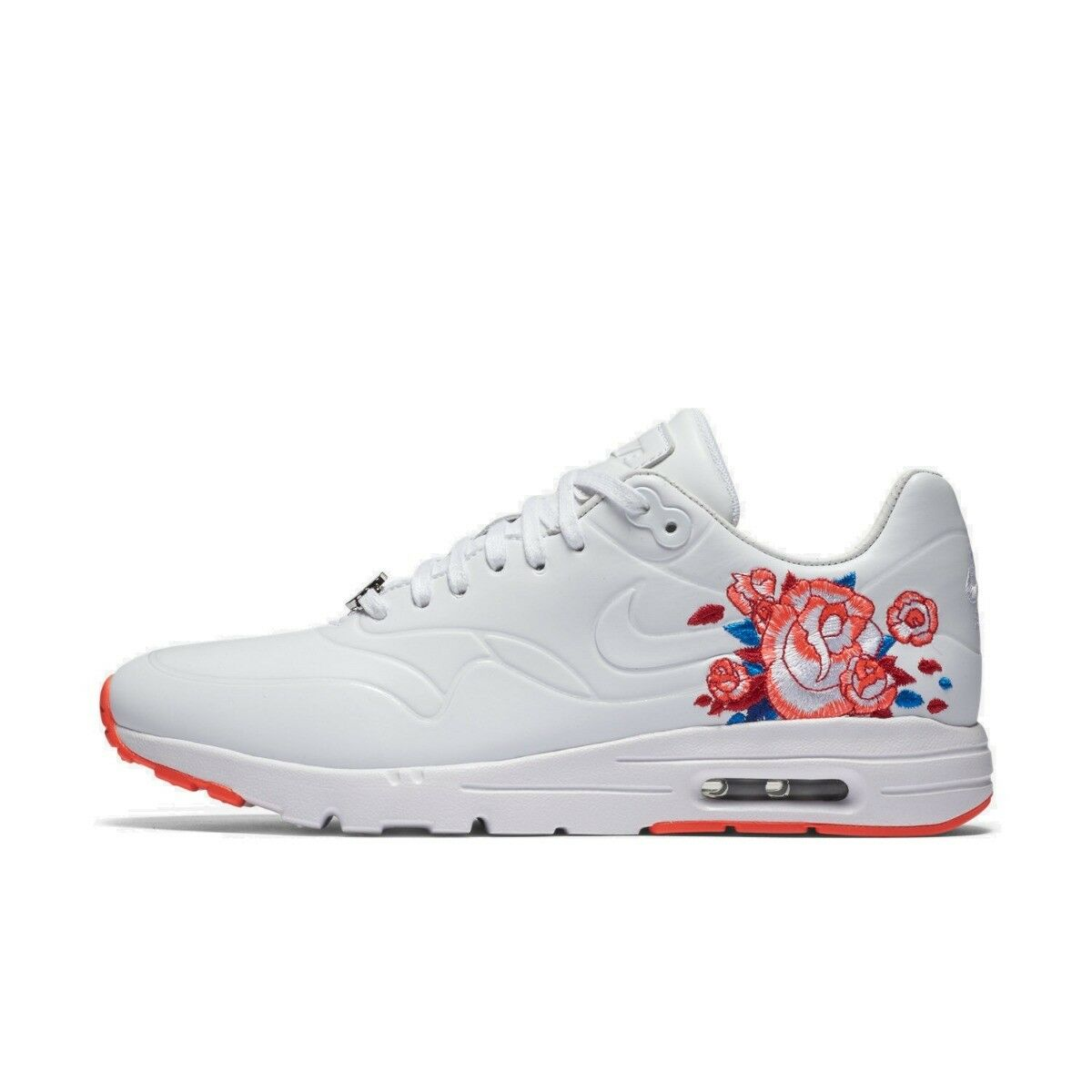 Nike Femmes AIR MAX ULTRA SW Qs Taille rose blanc de Course Baskets RARE