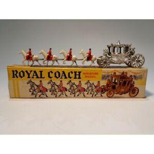 , modèle royal de miniatures d'entraîneur / fabriqué en Angleterre Mc43336   Royal Coach Miniatures Model / Made In England Mc43336
