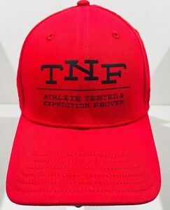 THE-NORTH-FACE-034-Classic-Sport-034-Baseball-Hat-Adjustable-Size-Red-Ball-Cap-NWT