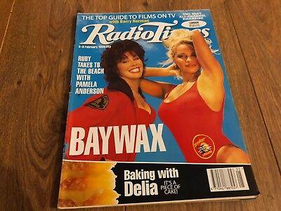 RADIO TIMES MAGAZINE 1996/9/2 RUBY WAX & PAMELA ANDERSON, MALCOLM MCDOWELL  | eBay